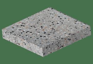 Elite Concrete Flooring - Medium Exposure - Texturized Polished Floor